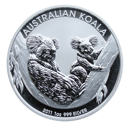 2011_1_dollar_Australian_koala_1_Oz_proof_revers