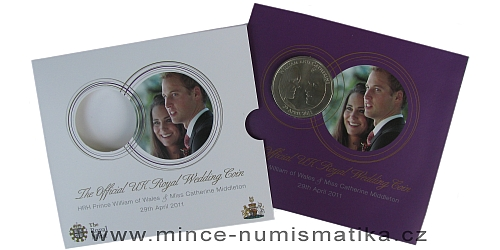 2011 - £ 5 - Royal Wedding Coin