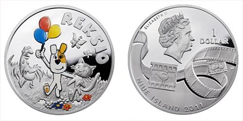 2011 - 1 $ Niue Island - Reksio Ag