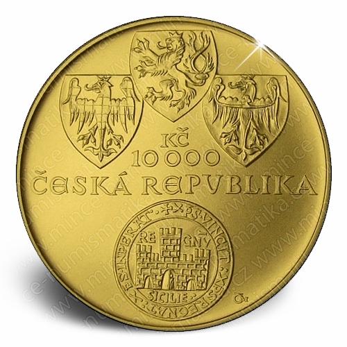 2012_10000Kc_Zlata_Bula_sicilska_mince_bezna_avers