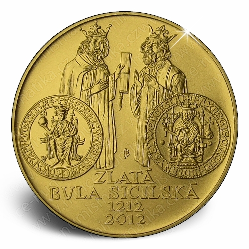 2012_10000Kc_Zlata_Bula_sicilska_mince_bezna_revers