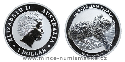 2012 Australian Koala 1 Oz - Ag