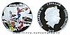 2012 - 1 $ Cook Islands - Čtyřlístek na minci