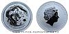 2012 - 1 dollar - Year of the Dragon Ag (Australia Lunar II.)