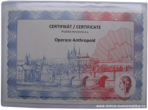 2012_Ag_medaile_Operace_Anthropoid_2_certifikat