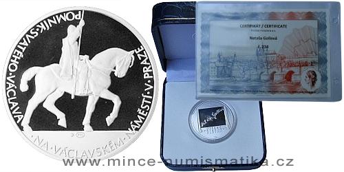 KALENDÁRIUM 2012 - série 24 stříbrných medailí