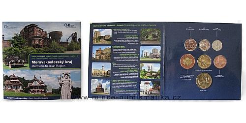Sada oběžných mincí ČR 2012 Kraje ČR - Moravskoslezský
