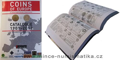 Katalog COINS of EUROPE 1901 - 2012 (T.G. and T. Kosinski)