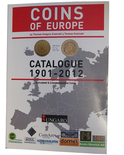2012_katalog_Coins_of_Europe_Kosinski_prebal_1