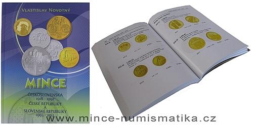 Katalog mincí Československa, ČR a SR 1918 - 2012 (V. Novotný)