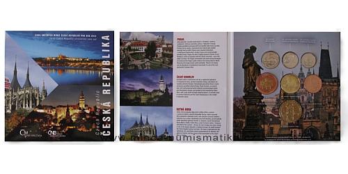 Sada oběžných mincí ČR 2012 - Česká republika