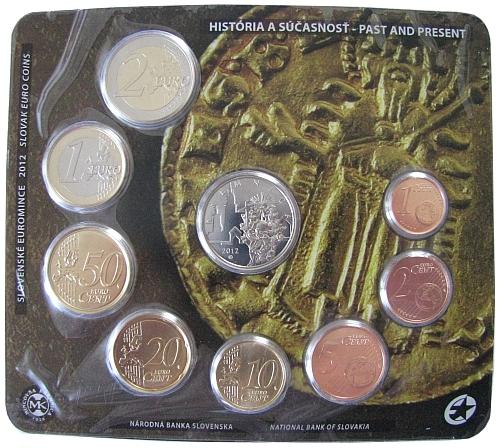 2012_sada_SR_Kremnica_novodoba_historie_6_euro_mince