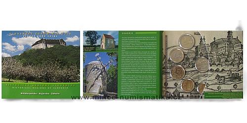 Sada oběžných mincí SR 2012 -