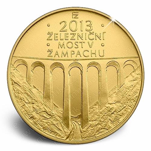 2013_06_5000Kc_Zeleznicni_most_v_Zampachu_mince_revers