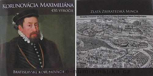2013_100_euro_Korunovace_Maxmilian_II._1_obal
