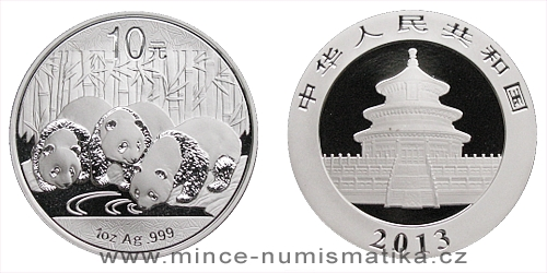 2013 China Panda 1 Oz - Ag