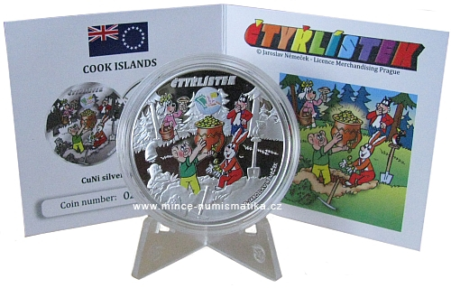 2013_1_dollar_Cook_Islands_Ctyrlistek_Sberatel_1_mince