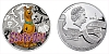 2013 - 1 $ Niue Island - Scooby-Doo Ag
