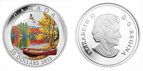 2013 - 20 $ Kanada - Autumn Bliss - Harmony Ag