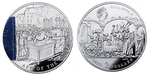 2013 - 2 $ Niue Island - Ark of The Covenant (Archa úmluvy)