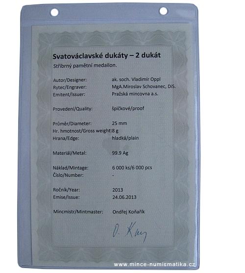 2013_2_dukat_Svatovaclavsky_Ag_certifikat_2