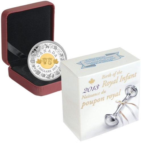 2013_5_dollars_Kanada_Royal_Infant_Ag_etue