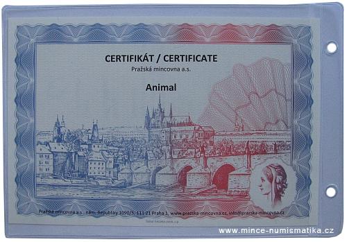 2013_Ag_medaile_Animal_2_certifikat