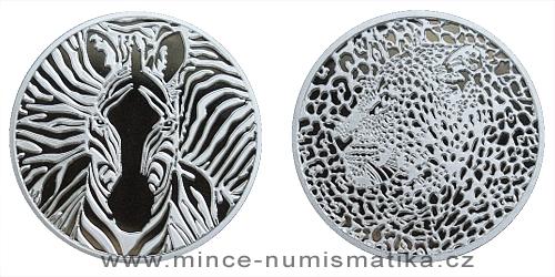 Stříbrná medaile Animal