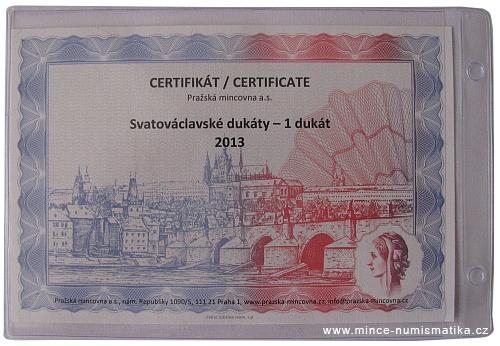 2013_Au_Svatovaclavsky_dukat_3_certifikat