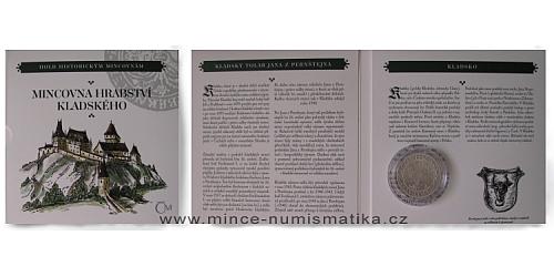 Kolekce hold historickým mincovnám - replika Kladského tolaru Jana z Pernštejna