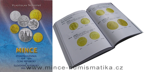 Katalog mincí Československa, ČR a SR 1918 - 2013 (V. Novotný)