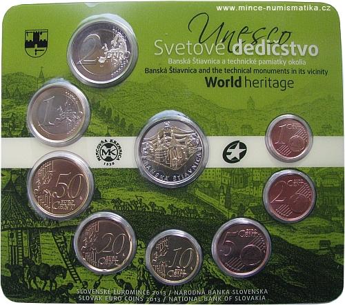 2013_sada_minci_SR_Unesco_Banska_Stiavnica_mince_1