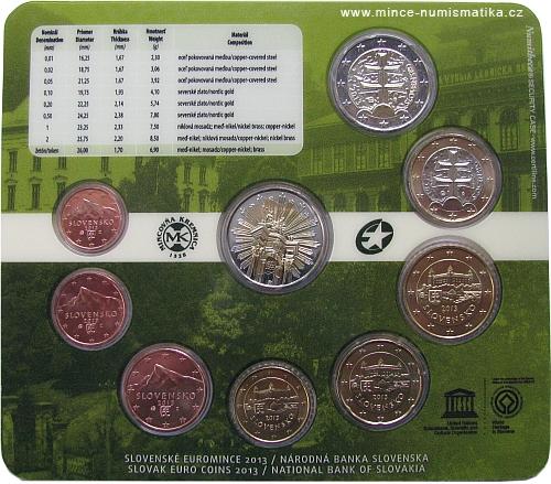 2013_sada_minci_SR_Unesco_Banska_Stiavnica_mince_2