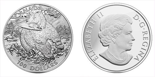 2014 - 100 $ Kanada - The Grizzly Ag