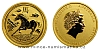 2014 - 15 dollars Austrálie - Year of the Horse Au 1/10 Oz