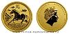 2014 - 15 dollars Austrálie - Year of the Horse Au 1/10 Oz