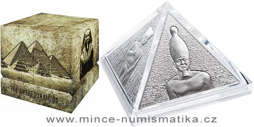 2014 - 15 $ Niue Island - Velké pyramidy / The Great Pyramids