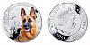 2014 - 1 $ Niue - German Shepherd / Německý ovčák
