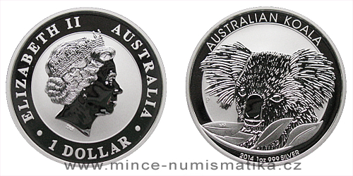 2014 Australian Koala 1 Oz - Ag