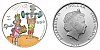 2014 - 1 $ Cook Islands - Čtyřlístek - Fifinka a Bobík