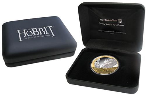 2014_1_dollar_Hobbit_Ag_pozlaceno_Bilbo_a_Smak_etue