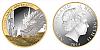 2014 - 1 $ Nový Zéland - The Hobbit - Bilbo a Šmak (Bilbo and Smaug) Ag pozlaceno