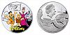 2014 - 1 $ Niue Island - Flintstoneovi Ag