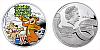 2014 - 1 $ Niue Island - Méďa Béďa Ag