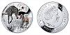 2014 - 1 $ Niue - Zebra Grévyho (Grevy´s Zebra)