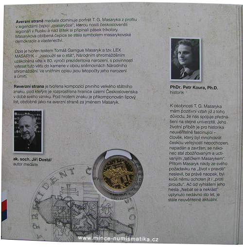 2014_medaile_Au_T.G.Masaryk_proof_detail_2
