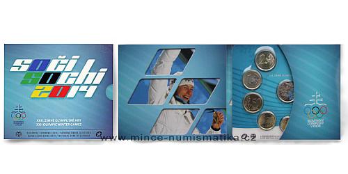 Sada oběžných mincí SR 2014 -