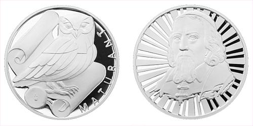 Stříbrná titulární medaile Maturant