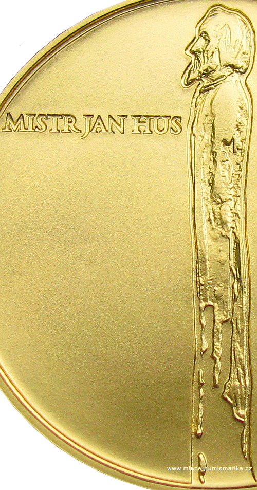 2015_10000Kc_Mistr_Jan_Hus_Au_mince_detail