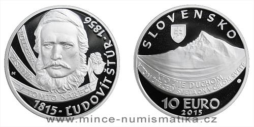 10 € - 200. výročie narodenia - Ľudovít Štúr